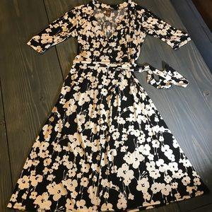 Merona Floral Wrap Dress